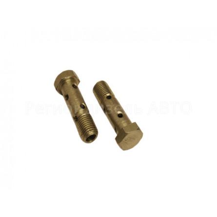 870031 Болт топливный М14х1,5х50 под 2 трубки (310236-П29, 240-1111103)